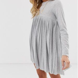 ASOS Dresses - ASOS Design Pleated smock dress
